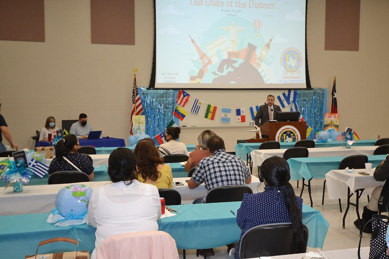 UISD hosts its first UCOP meeting in 20 months