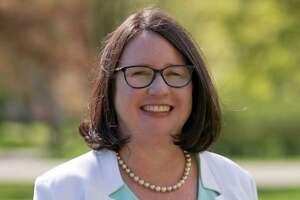 Incumbent Democrat Peggy Lyons, Madison first selectman.