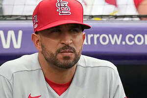 """Former Cardinals bench coach Oliver """"Oli"""" Marmol, 35, has been named the 51st manager of the Cardinals."""
