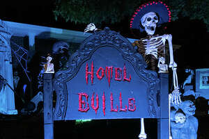 Hotel Eville, the family-friendly haunted house at 113 W. Lake Drive in Edwardsville, is back for its 12th season, with its public debut set for 6-9 p.m. on Sunday.