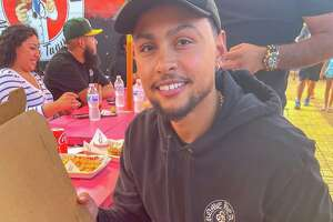 After spending a season in Milwaukee, Bryn Forbes is back on the Spurs roster and supporting San Antonio businesses in his free time.