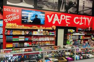 Vape City has locations throughout Texas. The vape shop is the latest to take legal action against the state's restrictive ban on Delta 8 THC products.