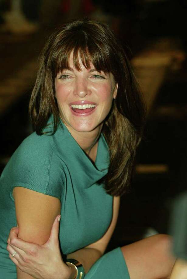 Model Stephanie Seymour attends the Proenza Schouler Spring/Summer 2004 Collection at Bryant Park during the 7th on Sixth Mercedes-Benz Fashion Week on September 17, 2003 in New York City. Photo: Stuart Ramson, ST / 2003 Getty Images