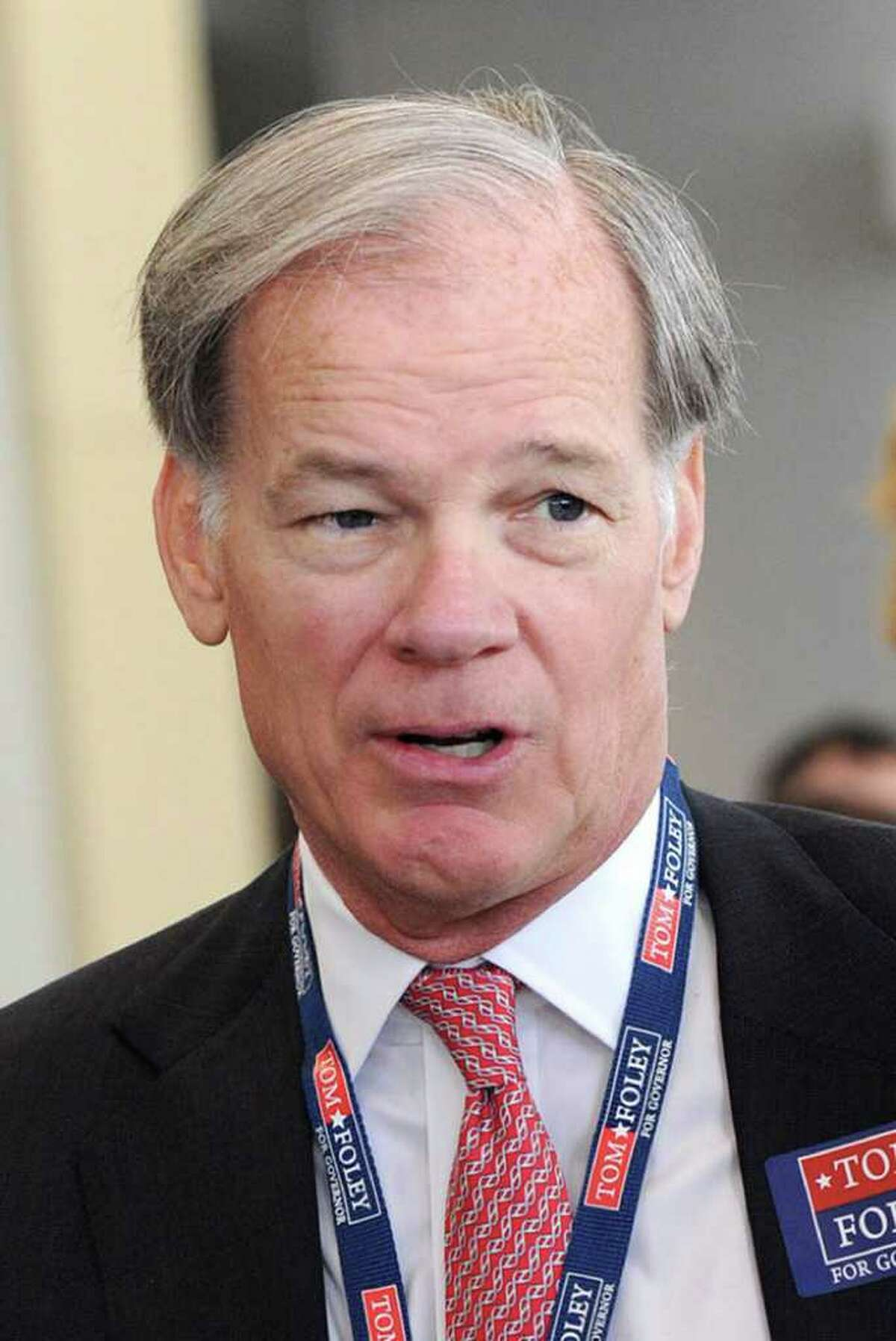 Tom Foley, Republican candidate for governor in Connecticut.