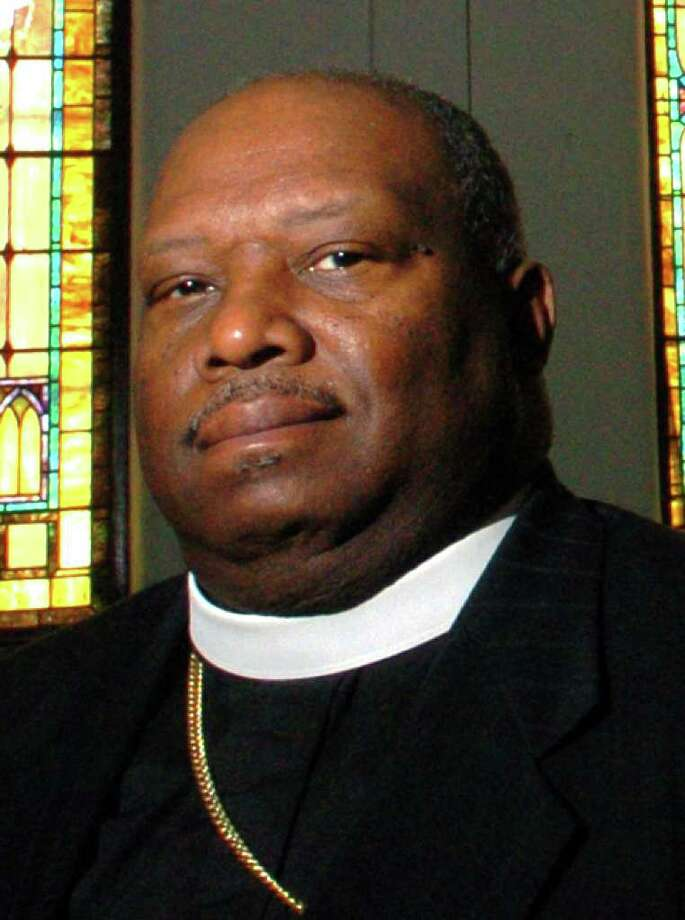Bishop Kenneth H. Moales, Sr. of Prayer Tabernacle Church of Love, in Bridgeport, Conn., April, 2005. Photo: File Photo / Connecticut Post File Photo