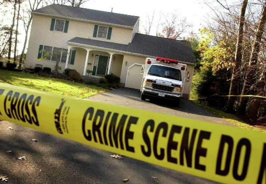 The Delmar house where Peter Porco was found dead and Joan Porco severely injured in November 2004. ( Times Union archive )