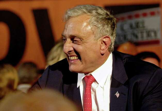 Republican gubernatorial candidate Carl Paladino is surprising critics with his popularity in blue state New York. (Associated Press)