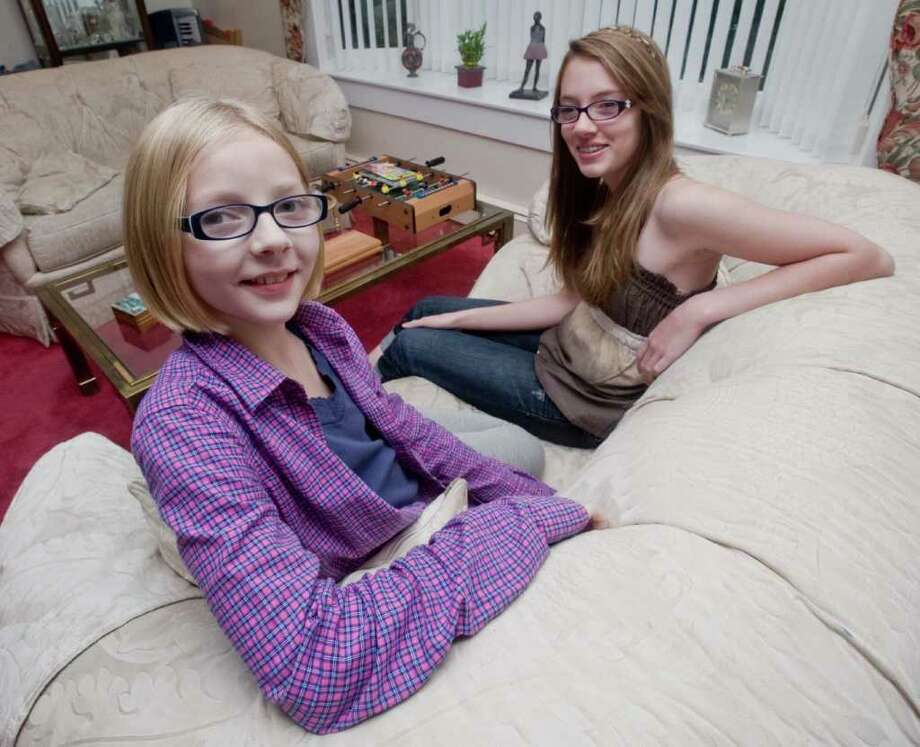 Chayce Schultz, 11 and sister Kylie, 13, of Danbury, were in a public service announcement about internet safety that is national. It was done with local kids and now is on all the channnels. Tuesday, Sept. 21, 2010 Photo: Scott Mullin / The News-Times Freelance