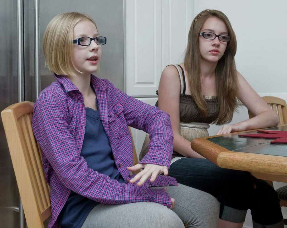 Chayce Schultz, 11 and sister Kylie, 13, of Danbury, were in a public service announcement about internet safety that is national. It was done with local kids and now is on all the channnels. Tuesday, Sept. 21, 2010