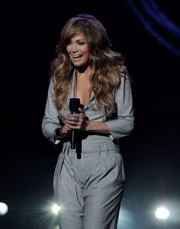 "INGLEWOOD, CA - SEPTEMBER 22:  Singer Jennifer Lopez appears onstage at a press conference to officially announce the season 10 ""American Idol"" judges panel at The Forum on September 22, 2010 in Inglewood, California.  (Photo by Kevin Winter/Getty Images) *** Local Caption *** Jennifer Lopez Photo: Kevin Winter, Getty Images / 2010 Getty Images"