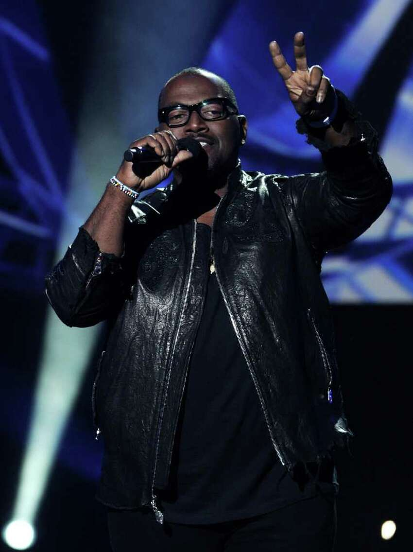 INGLEWOOD, CA - SEPTEMBER 22: Musician Randy Jackson appears onstage at a press conference to officially announce the season 10