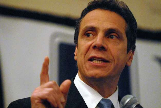 Democratic gubernatorial candidate Andrew  Cuomo says the only poll that matters is on Election Day. (Times Union Archive)