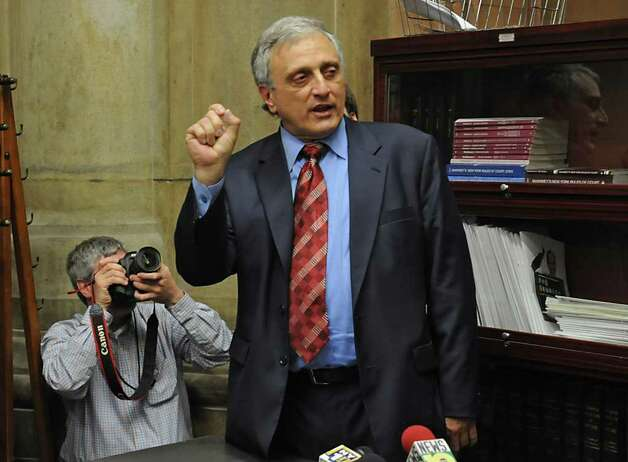 Gubernatorial candidate Carl Paladino bucked Republican party leaders in winning the primary. Photo: LORI VAN BUREN