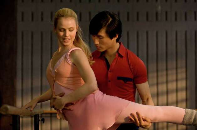 Amanda Schull as Liz and Chi Cao as Li in MAO'S LAST DANCER. (Simon Cardwell / Samuel Goldwyn Films / ATO Pictures)