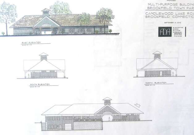 The multi purpose building at town beach has been scaled for Multi purpose building plans