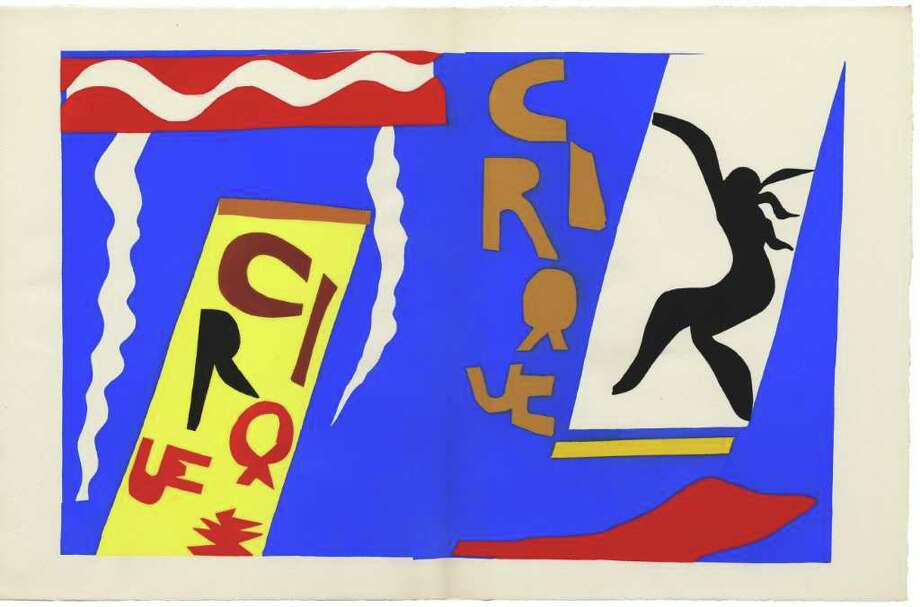 """""""Le Cirque,"""" a lithograph by Russian-French artist Marc Chagall, is on view as part of """"Circus! Art and Science Under the Big Top"""" at the Bruce Museum. Photo: Contributed Photo / Connecticut Post Contributed"""