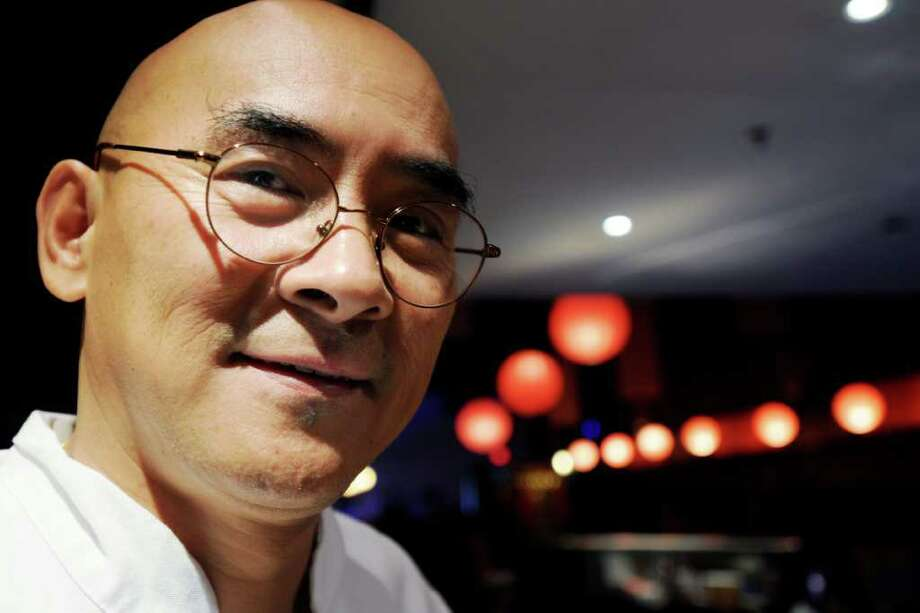Newly opened Asian restaurant Tai Restaurant & Lounge, features the Tai Sushi by Saso on North Pearl St. in Albany, NY, on Tuesday, Sept. 21, 2010.  This is Chef Saso.  Tai ownership got the noted chef to come out of retirement to open the sushi bar downtown.  The new restaurant has a bar, Taku Sake Lounge, and of course Saso's Sushi Bar.  (Luanne Ferris / Times Union) Photo: Luanne M. Ferris