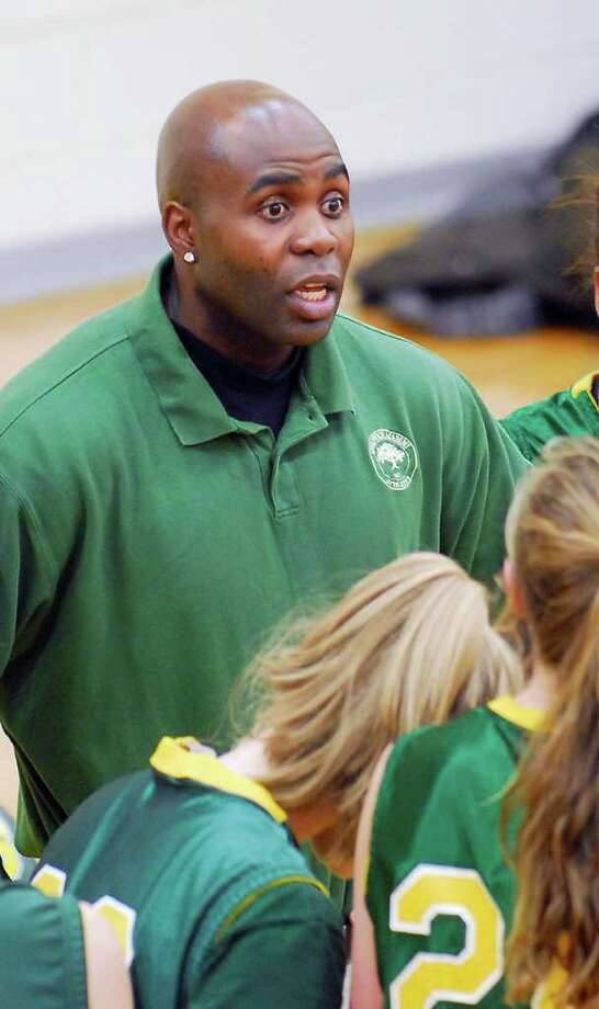 Greenwich Academy basketball coach O'Neil Medley in 2008. Medley, a Stamford resident, died in a motorcycle accident. Photo: Contributed Photo / Greenwich Time Contributed