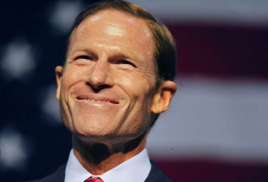 Connecticut Attorney General Richard Blumenthal defeated Linda McMahon in the race for U.S. Senate. Photo: AP