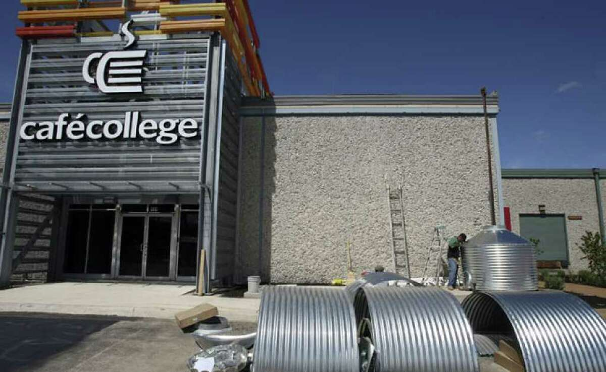Café College, designed to help high school and middle school students gain the knowledge and skills they need to obtain a college education, opens Tuesday.