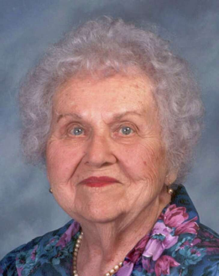 Frances Hillje: She lived for more than a century in San Antonio.