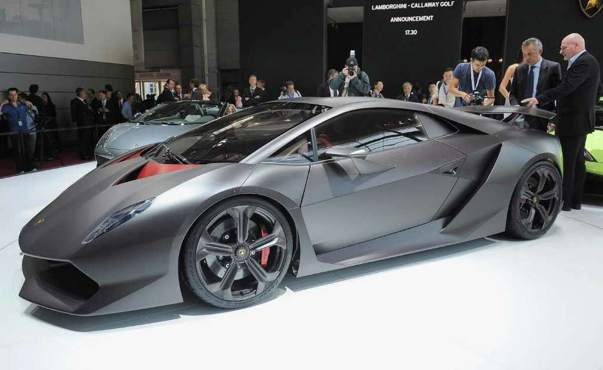 PARIS - SEPTEMBER 30: Picture of the new Lamborghini Sesto Elemento Concept car taken during a press day at the Paris Motor Show at Parc des expositions Porte de Versailles on September 30, 2010 in Paris, France. (Photo by Francois Durand/Getty Images)