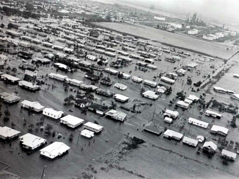 Groves in south Jefferson County was one of the areas flooded by Hurricane Carla in 1961. Enterprise file photo Photo: File