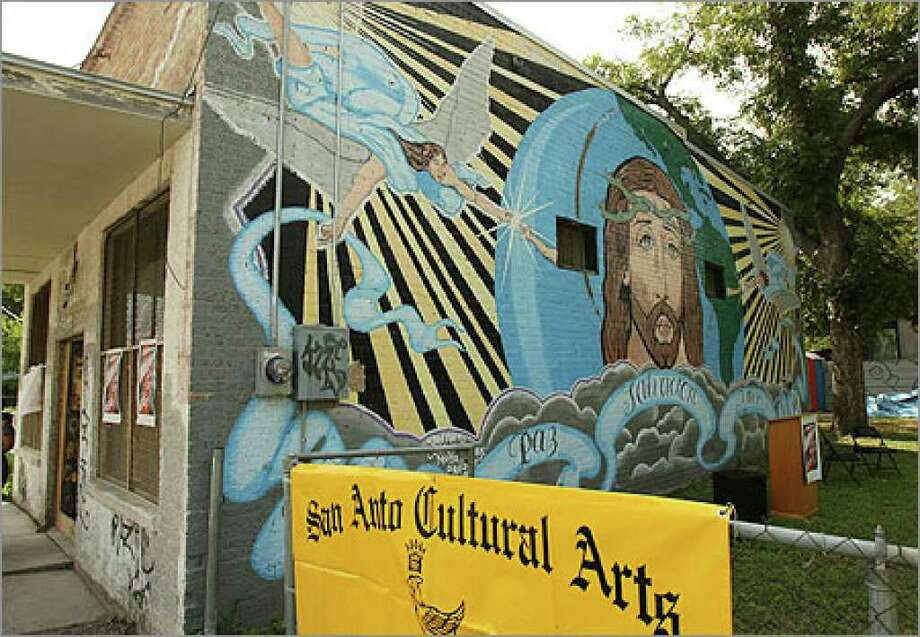 San Anto Cultural Arts expects to move into this building at the end of October.