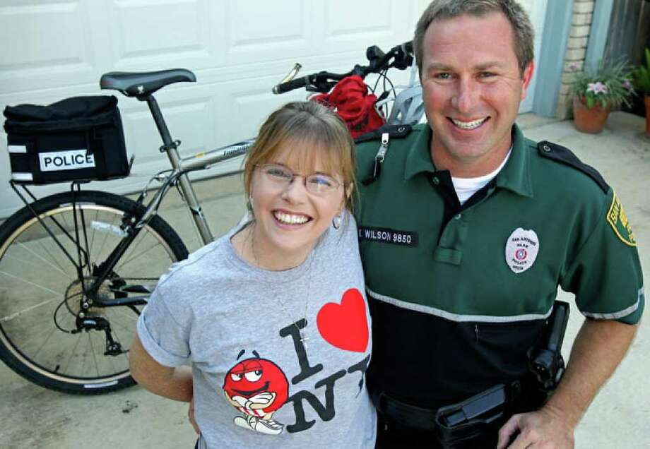 Tina Wilcox and Kevin Wilson are ready for the Bike MS ride Saturday and Sunday.