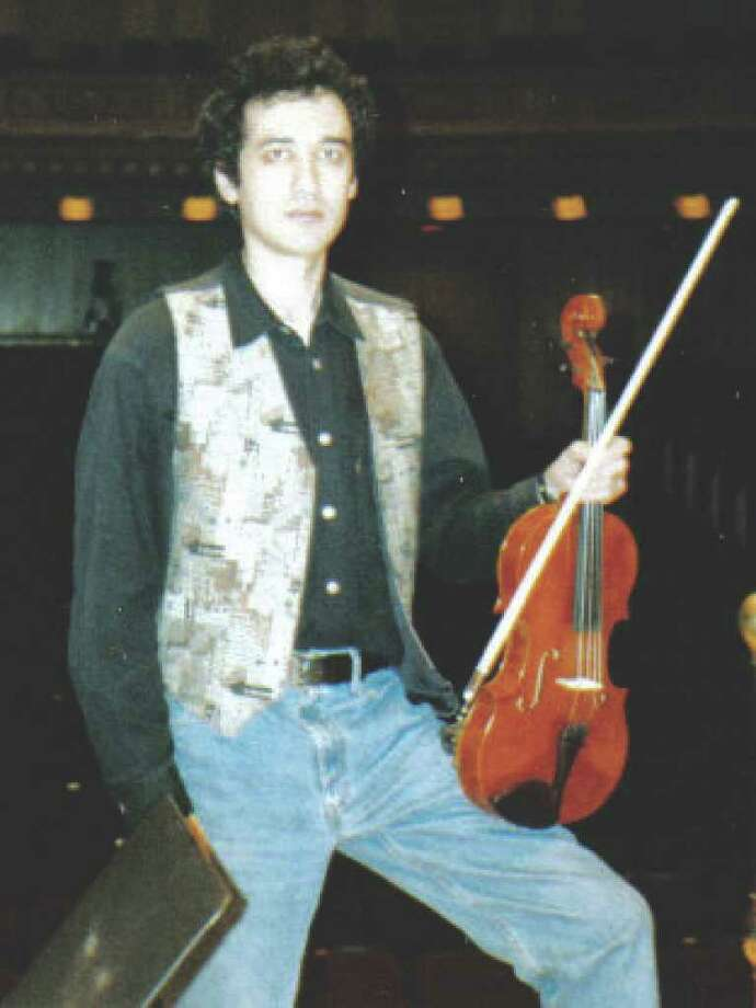 Yaroslav Kargin, a violin and viola instructor in New Canaan, spent three weeks at the Eleazar de Carvalvo Festival in Brazil this summer. Photo: Contributed Photo / New Canaan News