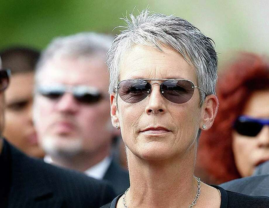 HENDERSON, NV - OCTOBER 04:  Actress Jamie Lee Curtis attends the funeral for her father, actor Tony Curtis, at Palm Mortuary & Cemetary October 4, 2010 in Henderson, Nevada. Curtis died on September 29 at age 85.  (Photo by Ethan Miller/Getty Images) *** Local Caption *** Jamie Lee Curtis Photo: Ethan Miller, Getty Images / 2010 Getty Images