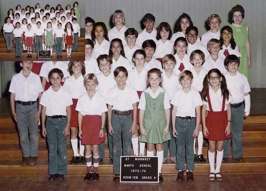 Mary McKinney (back row right) is seen in this 1973-74 class photo from St. Margaret Mary's School.