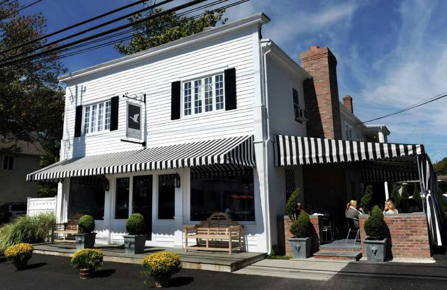 The Gray Goose, a newly opened restaurant at 246 Old Post Road in Southport. Photo: Autumn Driscoll, ST / Connecticut Post