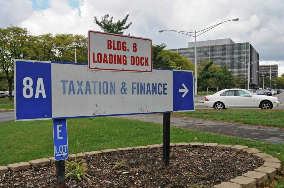 Taxation & Finance buildings in the Harriman Campus in Albany, NY on October 7, 2010.  (Lori Van Buren / Times Union) Photo: Lori Van Buren