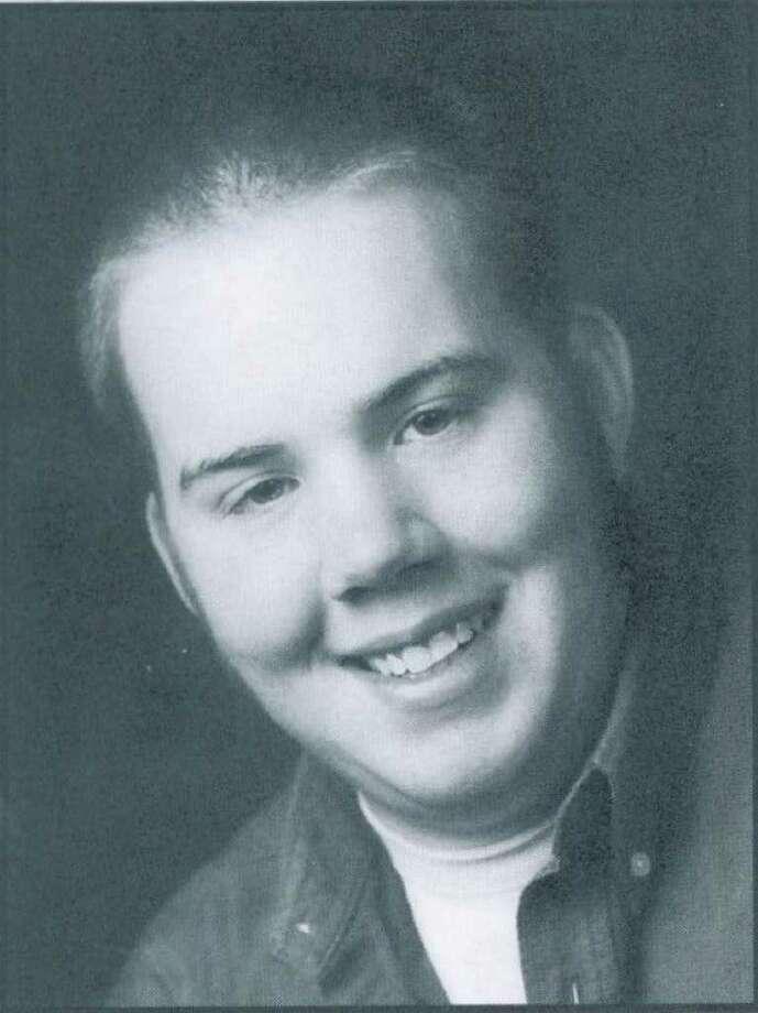 Zachary Keyser's senior photo from the 2004 Chatham High School yearbook.
