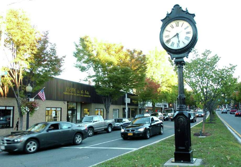 Main Street in Danbury is shown Oct. 8, 2010. Photo: Chris Ware / The News-Times