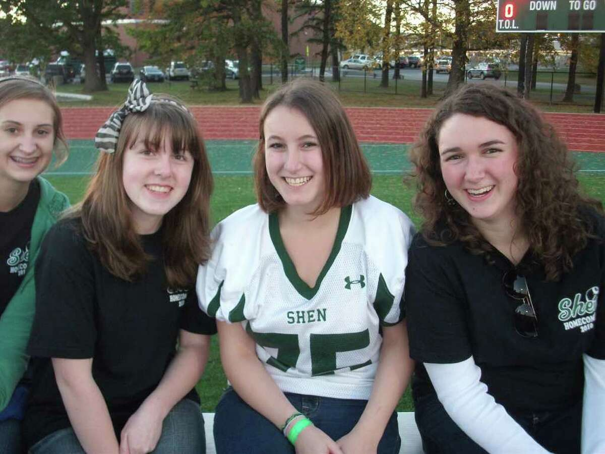 Were you seen at Shenendehowa v. Guilderland Homecoming Game?