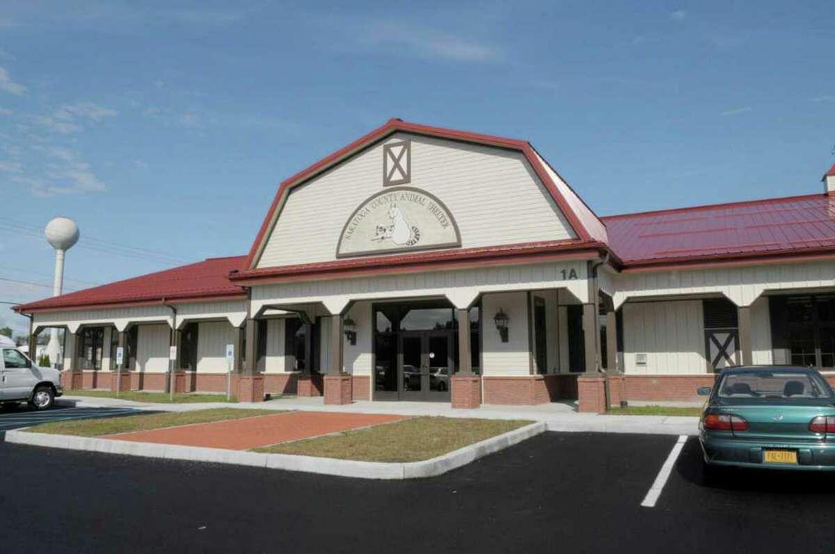 The new Saratoga County Animal Shelter in Milton. (Paul Buckowski / Times Union)
