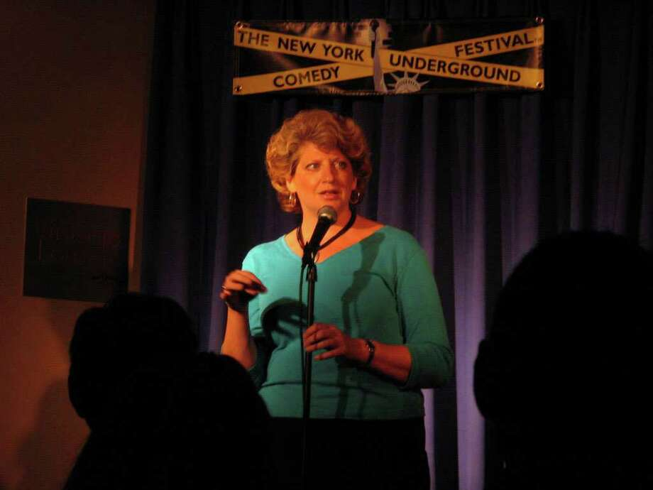 Stamford resident Suzanne Mernyk will be among a trio of comics that entertain guests at Girls Night Out, taking place on Oct. 15 at the Hilton Stamford Hotel. The event is part of Paint the Town Pink, a monthlong series of educational and social happenings put on by Stamford Hospital and community groups to mark Breast Cancer Awareness Month. Photo: Contributed Photo / Stamford Advocate Contributed