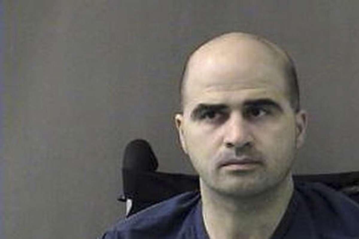 Fort Hood shooting suspect Maj. Nidal Malik Hasan is held at the Bell County Jail.