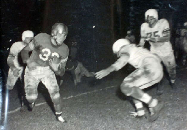 Lamar football, 1949. Photo courtesy of the Lamar University archives