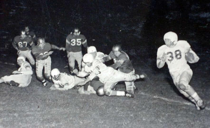 Lamar football, 1949. Photo courtesy of the Lamar University archives