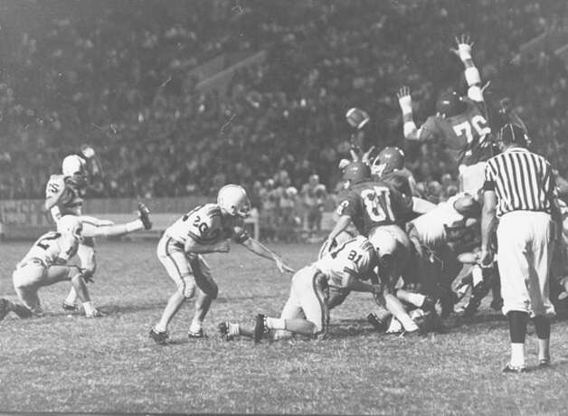 Lamar Tech versus Abilene Christian College, 1964. Photo courtesy of the Lamar University archives