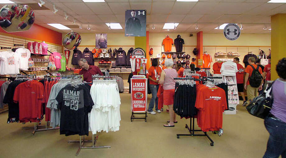 At the Setzer Center, in the Lamar University Bookstore, the fever that is Lamar University's first home football game in over 20 years was especially evident.     Dave Ryan/The Enterprise