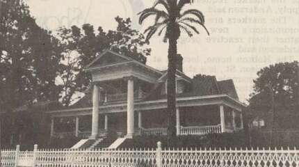 """BEAUMONT - """"The Hobson home, located at 2108 Harrison St., is a stunning, two-story example of Neo-Classical architecture in Texas."""" Beaumont Enterprise, 1990"""