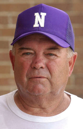 Coach Curtis Barbay (cq) poses for a mug shot at Newton High School in Newton on Friday, August 19,