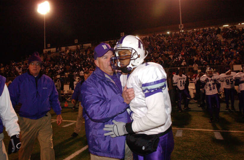 The Newton Eagles face the Argyle Eagles for the state championship Friday December 9, 2005 in Tyler