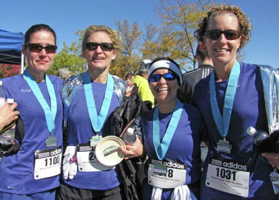 Were you seen at Mohawk-Hudson River Marathon and Half-Marathon? Photo: Anne-Marie Sheehan
