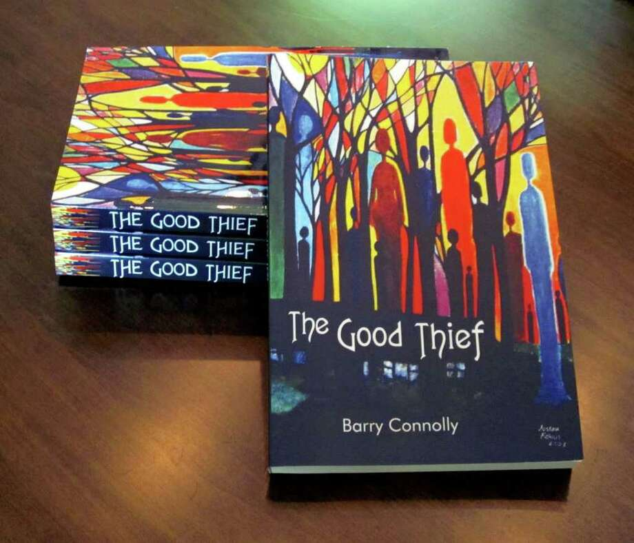 """The Good Thief"" is the first novel published by Bethel resident Barry Connolly. The cover art is by Joseph Farris. Photo: Contributed Photo / The News-Times Contributed"