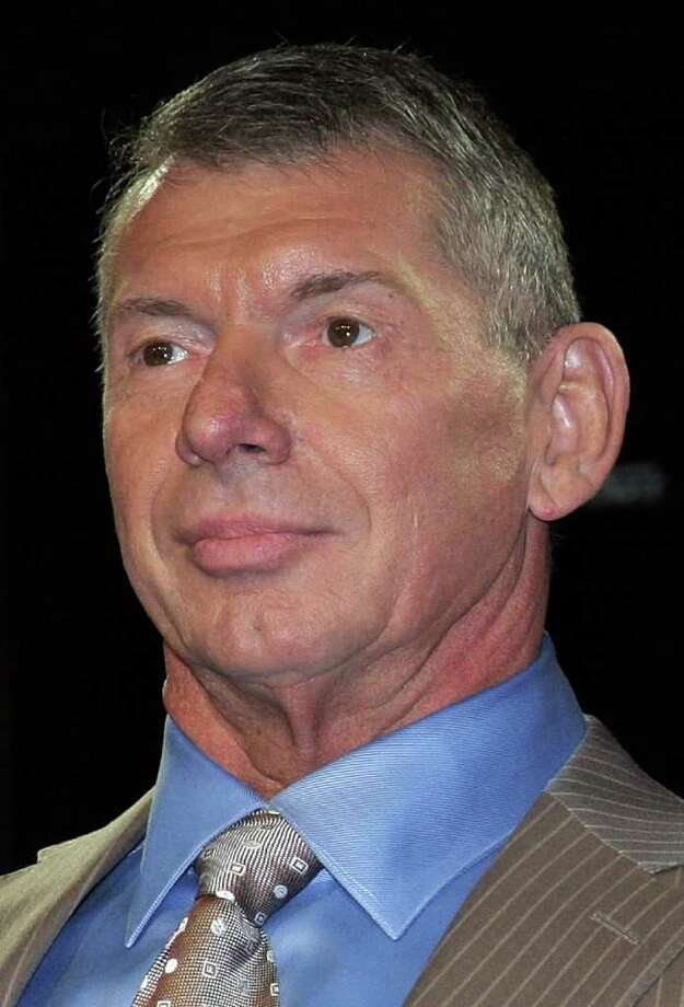 WWE Chairman Vince McMahon June 12, 2008 at the Hard Rock Cafe in New York City. Photo: Will Ragozzino, ST / 2008 Getty Images